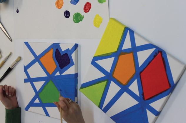 Crafts For Kids- Canvas Art